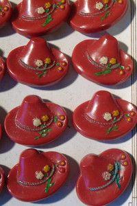 Tyrolean hat buttons       ew