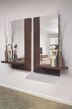Smart Tips on How to Buy a Wall Mirror - Wall Mirror Decor - Flur Design, Bed Design, Wall Design, House Design, Wall Mirror Design, Wall Mirror Ideas, Decoration Hall, Entryway Decor, Living Room Designs