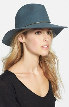 Free shipping and returns on Janessa Leone 'Lassen' Wool Hat at Nordstrom.com. Burnished goldtone wire wraps a handcrafted wool fedora that's designed and destined to become an heirloom-quality wardrobe piece.