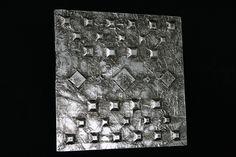 """Wanddeko - Metal Art Bild """"Stone Age"""" Aluminium Art, 3D - ein Designerstück von Angelas_Kreativwelt bei DaWanda"""