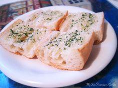 Easy, fresh garlic bread