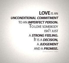 Love is not calculating who gives or takes more, it's about compromising and accommodating each other.