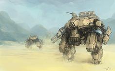 Main Battle Mech by ProgV.deviantart.com on @deviantART
