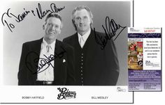 THE RIGHTEOUS BROTHERS Scarce Hand Signed 10x8 - JSA COA - UACC RD #289 in Collectibles, Autographs, Music | eBay