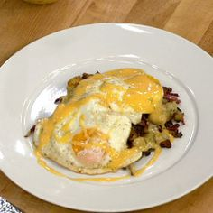 Steak Eggs Pickled Jalapeno Hollandaise- make without steak :)