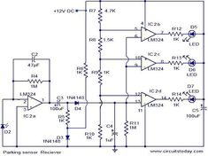 Parking sensor circuit - Electronic Circuits and Diagram-Electronics Projects and Design