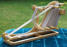 The new Sleigh Inkle Loom - Dovetail Creations. UK