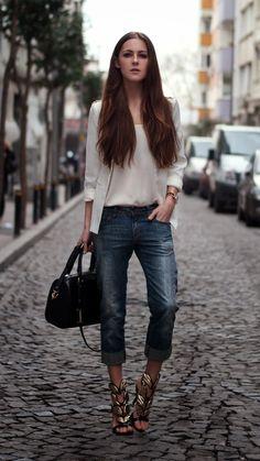 streetstyle, fashionblogger, blazer outfit, oasap heels, diesel jeans, fashion details, michael kors, lookbook, longhair, istanbul street st...