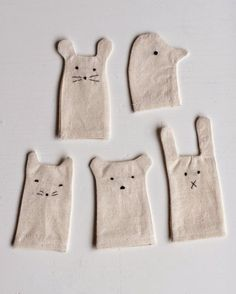 Simple finger puppets by Ukkonooa