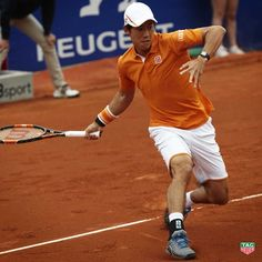 2016/4/24 Two-time defending champion and TAG Heuer ambassador @keinishikori is now focused on @bcnopenbs finals