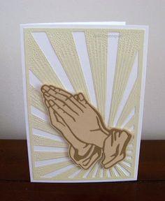 Ann Greenspan's Crafts: Praying Hands Cards