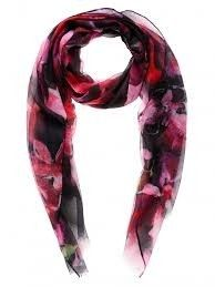 Sussan oversized floral scarf
