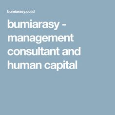 bumiarasy - management consultant and human capital