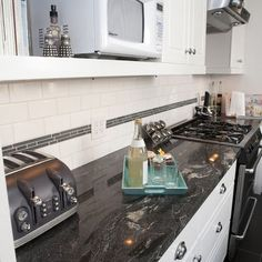 titanium granite kitchens white cupboards - Yahoo Canada Image Search Results