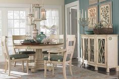 dining room- beachy casual but sophisticated