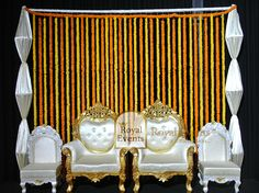 Share your thoughts on this #Stage #Decoration  Do you think it is   #Simple or #Stylish?