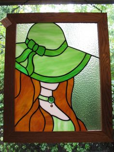 Lucinda is a very large piece.measuring 21 x 26 inches.and is all my own design! Stained Glass Crafts, Faux Stained Glass, Stained Glass Panels, Stained Glass Patterns, Leaded Glass, Mosaic Glass, Tiffany Kunst, Tiffany Art, Pictures To Draw