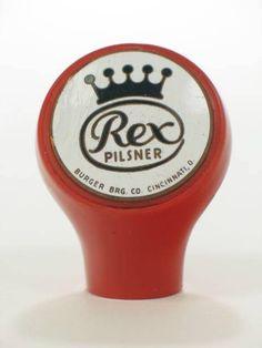 Rex Pilsner Beer, Burger Brewing Company Cincinnati, OH, USA