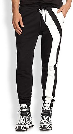Y-3 Y-Striped Track Pants