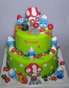 Smurfs Cake | smurfs cake