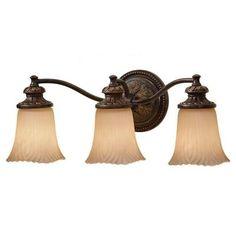 Feiss Emma 3-Light Grecian Bronze Vanity Light-VS19503-GBZ at The Home Depot