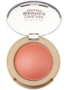 This peachy pink Maybelline blush goes on very sheer, giving cheeks a natural wash of color and a dewy sheen. -- Rose Petal