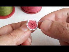 347- Kısa Borulu Yapımı Kolay Muhteşem Bir İğne Oyası Modeli - YouTube Crochet Flower Tutorial, Crochet Flowers, Brazilian Embroidery, Iphone Wallpaper, Knots, Hipster, Lassi, Jewelry, Youtube