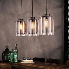 Hanglamp industrieel glas Hanglamp eettafel Industriële lampen The post Hanglamp industrieel glas appeared first on Lampen ideen. Bedside Lamps Blue, Bedroom Lamps, Lamp Logo, Farmhouse Lamps, Wooden Lamp, Unique Lamps, Mason Jar Lamp, Furniture Inspiration, Home Interior Design