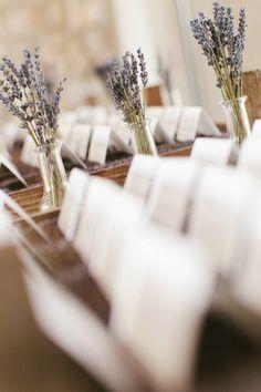 Lavender Centerpiece  #LavenderLust #Lavender #Purple #Wedding #BBJLinen #BBJTableFashions