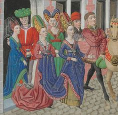 « La geste ou histore du noble roy Alixandre, roy de Macedonne, » traduite d'un « livre rimet,... intitulé l'Istore Alixandre, » par ordre de « Jchan de Bourgongne, conte d'Estampes » Date d'édition : 1401-1500 Français 9342 Folio 53v