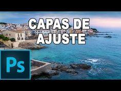 Capas de ajuste - Tutorial de Photoshop en Español - YouTube