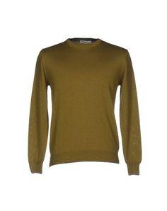 ALV ANDARE LONTANO VIAGGIANDO Men's Sweater Military green 3XL INT