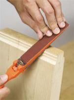 This Sanding File makes it easy to do detail sanding and shaping. $6.95
