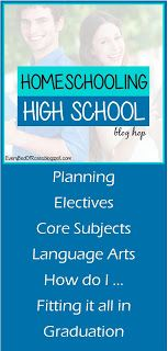 Every Bed of Roses: Introducing the 2015 Homeschool High School Blog Hop