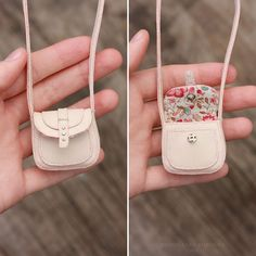 1/6 Miniature Bag for a doll by striped-box.deviantart.com on @DeviantArt