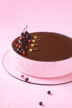 Verdade de sabor: Смородиновый торт-суфле / Torta suflê de groselha