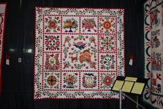 """The Big Parade"" by Rita Verroca - From www.thequiltshow.com This site has some beautiful quilts!"