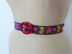 Floral belt--side view by Bolt Neighborhood, via Flickr