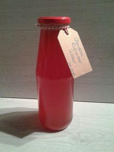 Uit Mijn Keukentje: Aardbeien-Rabarber-Likeur