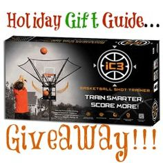 Holiday Gift Guide Giveaway! Perfect gift for the Basketball player; learn about the iC3 Basketball Trainer & enter to WIN!
