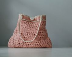 petite peach purse  pattern by MarianneS