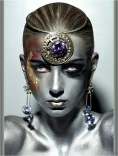 Amazing sci-fi beauty photography by Eric Ouaknine- Girlz of Z Future.