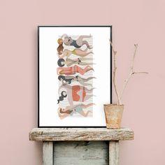 Basq 50x70 Art Prints, Inspiration, Illustration, Painting, Art, Source Of Inspiration, Color, Poster
