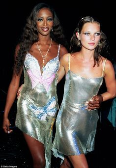 Under her wing: Kate described how model friend Naomi Campbell took her under her wing