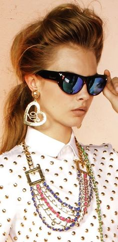 Cara Delevingne for Dsquared² Eyewear Collection 2013