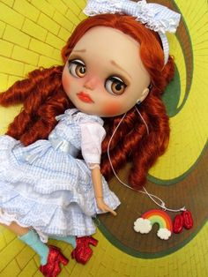 Custom TBL caracterizada Dorothy Gale - The Wizard of Oz