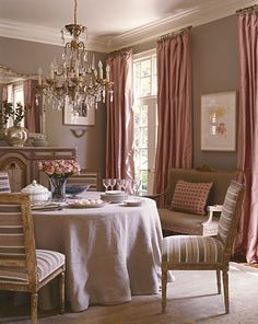 Love this room, not my style, but I love all the different elements together.  Well done!