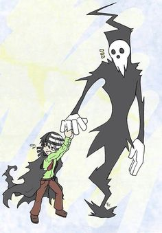 Death the Kid and Daddy