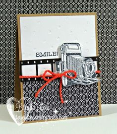 A beautiful card using CTMH Life in Pictures by Brenda Rose.