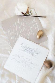 35 Beautiful Winter Wedding Stationery Ideas   HappyWedd.com